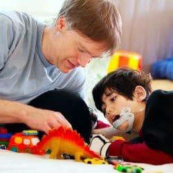La parálisis cerebral es una de las receptoras de ayuda a la dependencia