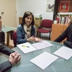 acuerdos entre aiudo, alanna y ribera salud para la inserción laboral de víctimas de violencia de género