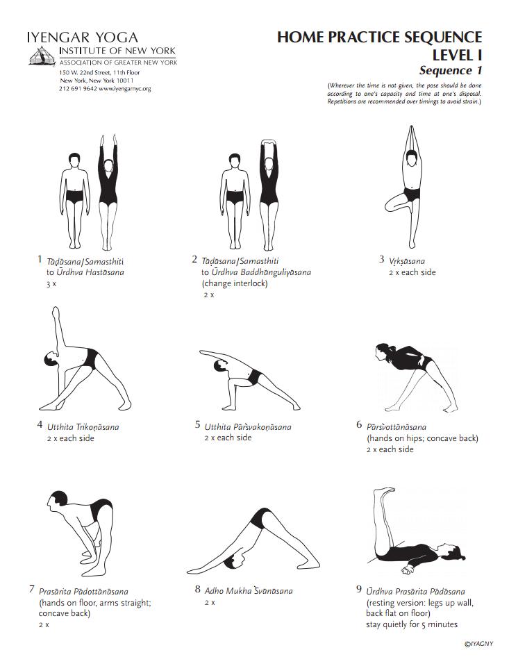 Ejercicios de Yoga de nivel básico 1