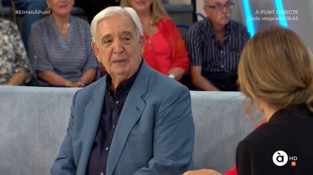 Miguel Castillo comparece en un programa de la televisión autonómica valenciana.