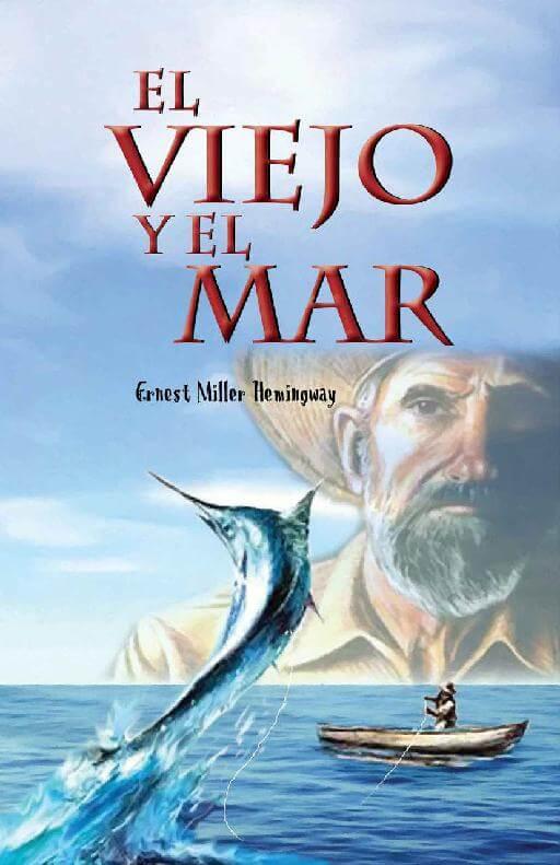 Portada libro El viejo y el mar.