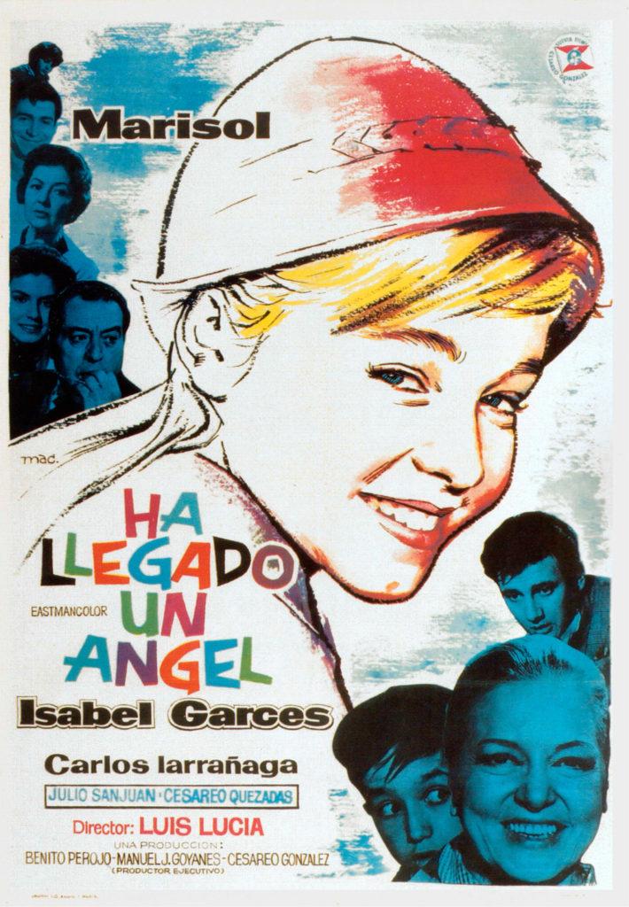 Cartel de la película de Marisol, Ha llegado un Angel