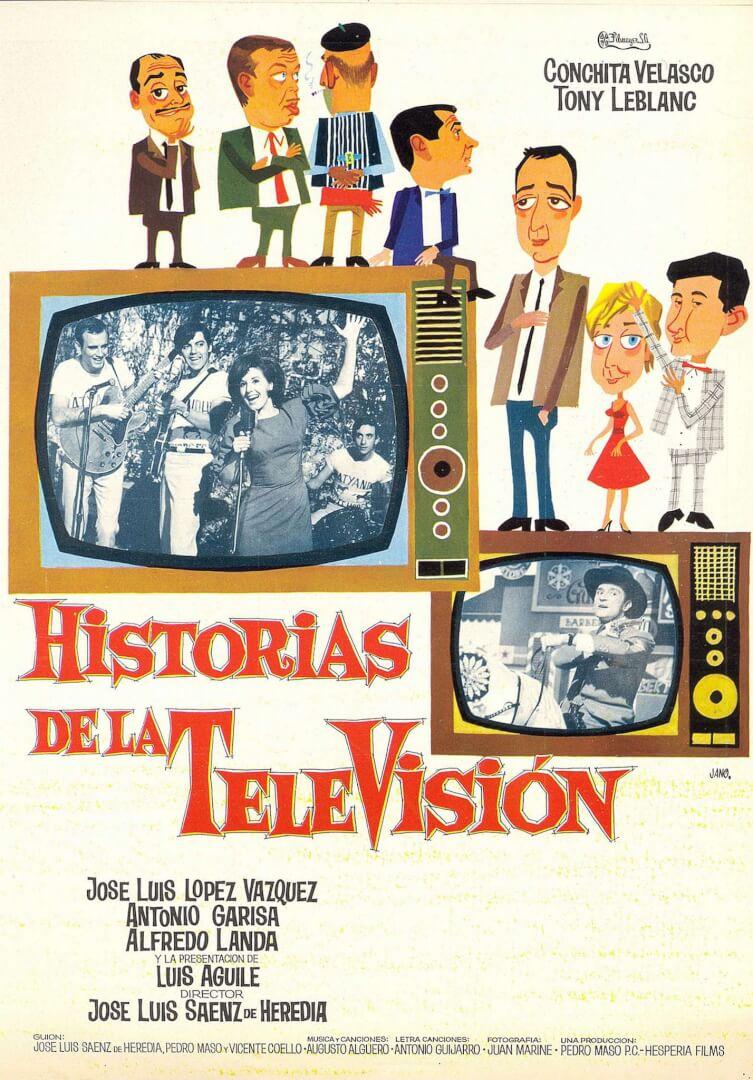 Cartel de la película 'Historias de la Televisión'