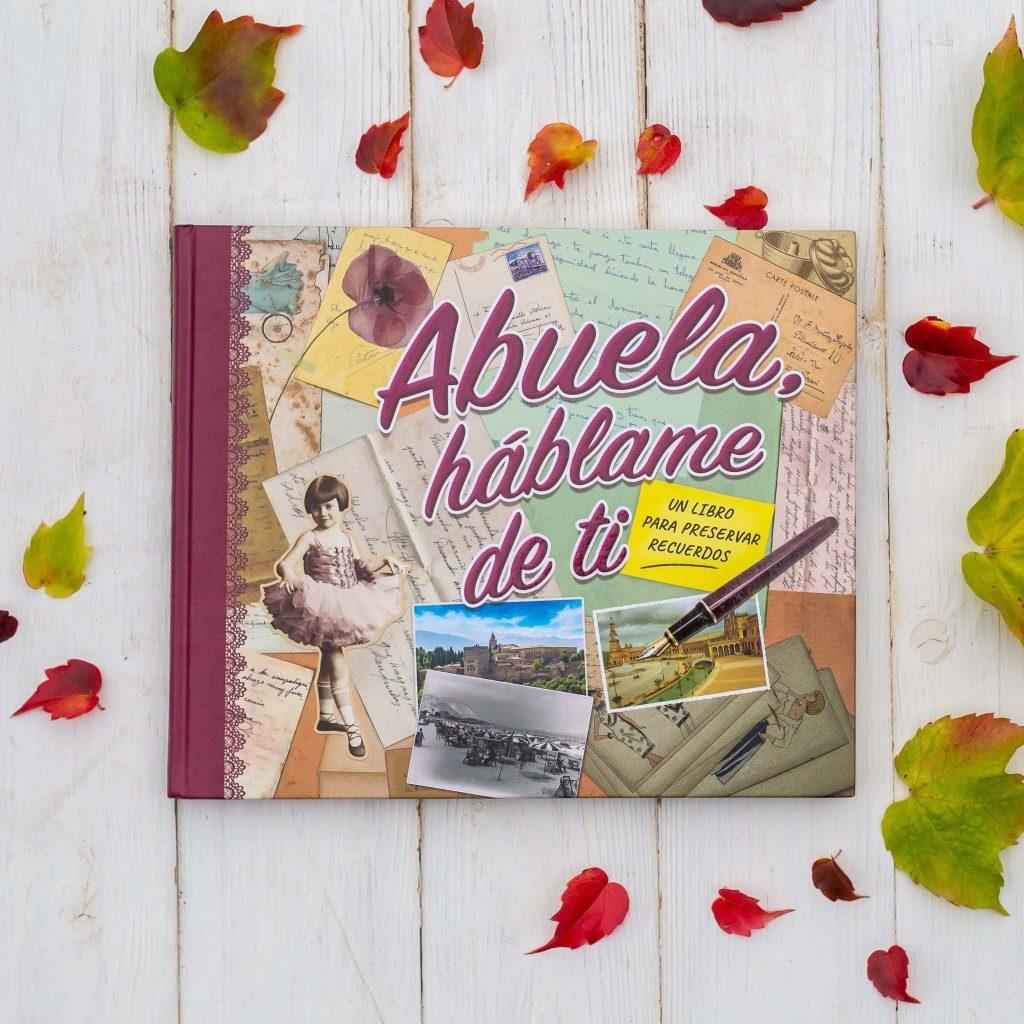 """Imagen de la portada del libro """"Abuela háblame de ti"""""""
