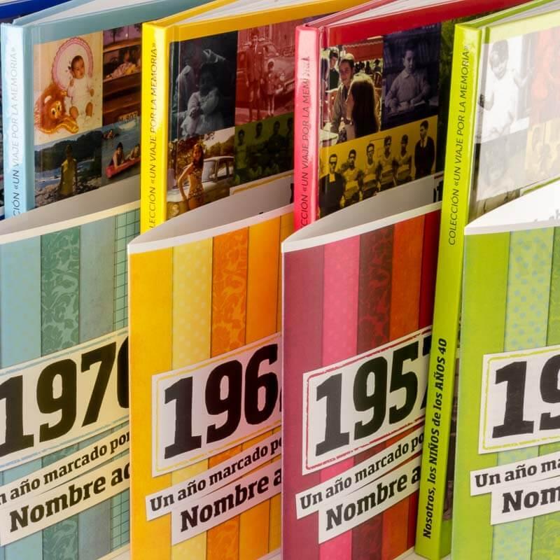 Cuatro portadas de diferentes años de la saga Un viaje por la memoria