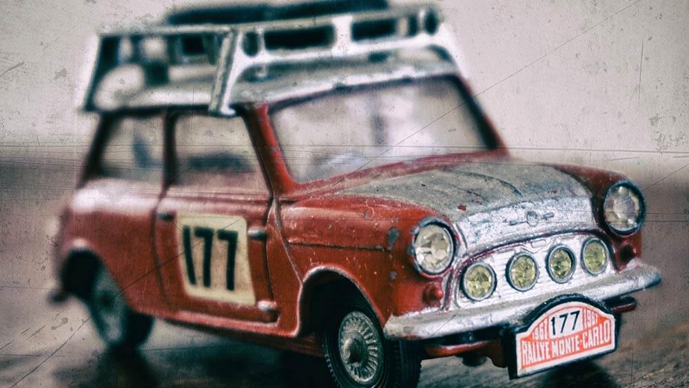 coche de colección del abuelo
